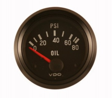 VDO 2 INCH OIL PRESSURE GAUGE WITH SENDER