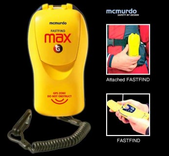 MCMURDO FASTFIND PLUS 406 PLB WITH GPS (USA)