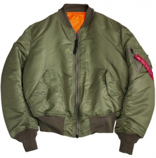 ALPHA MA-1 FLIGHT JACKET SAGE from Aircraft Spruce Canada