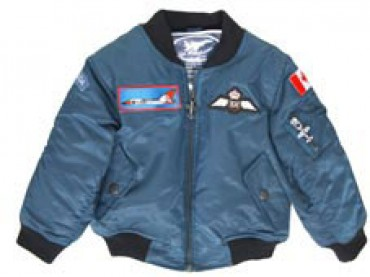 4-PATCH ROYAL CANADIAN AIR FORCE (RCAF) FLIGHT JACKET (BLUE) from ...