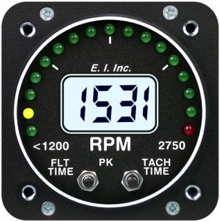 ELECTRONICS INTERNATIONAL R-1 RPM TACHOMETER