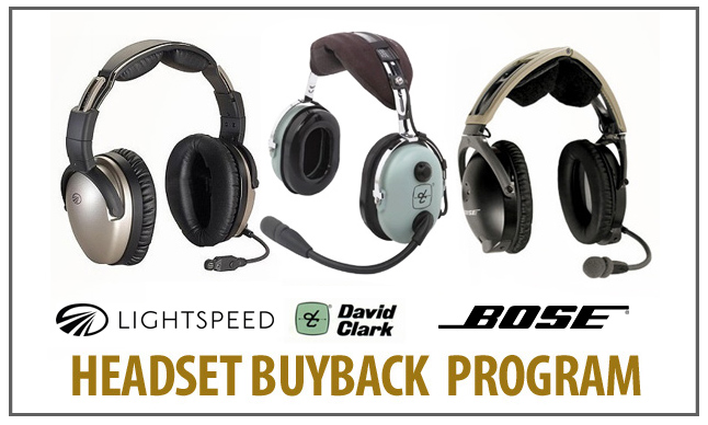 HEADSET BUYBACK PROGRAM from Aircraft Spruce Canada