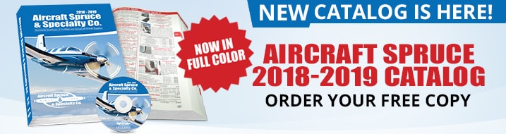 New Full Color Aircraft Spruce Catalog Is here!